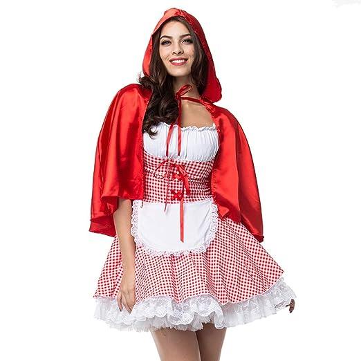 CLOOM Talla Grande Halloween Cosplay Vestidos De Fiesta Cortos ...