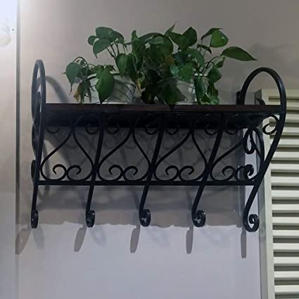 Amazon.com : Wall-Mounted Planter, Hanging Flower Stand ...