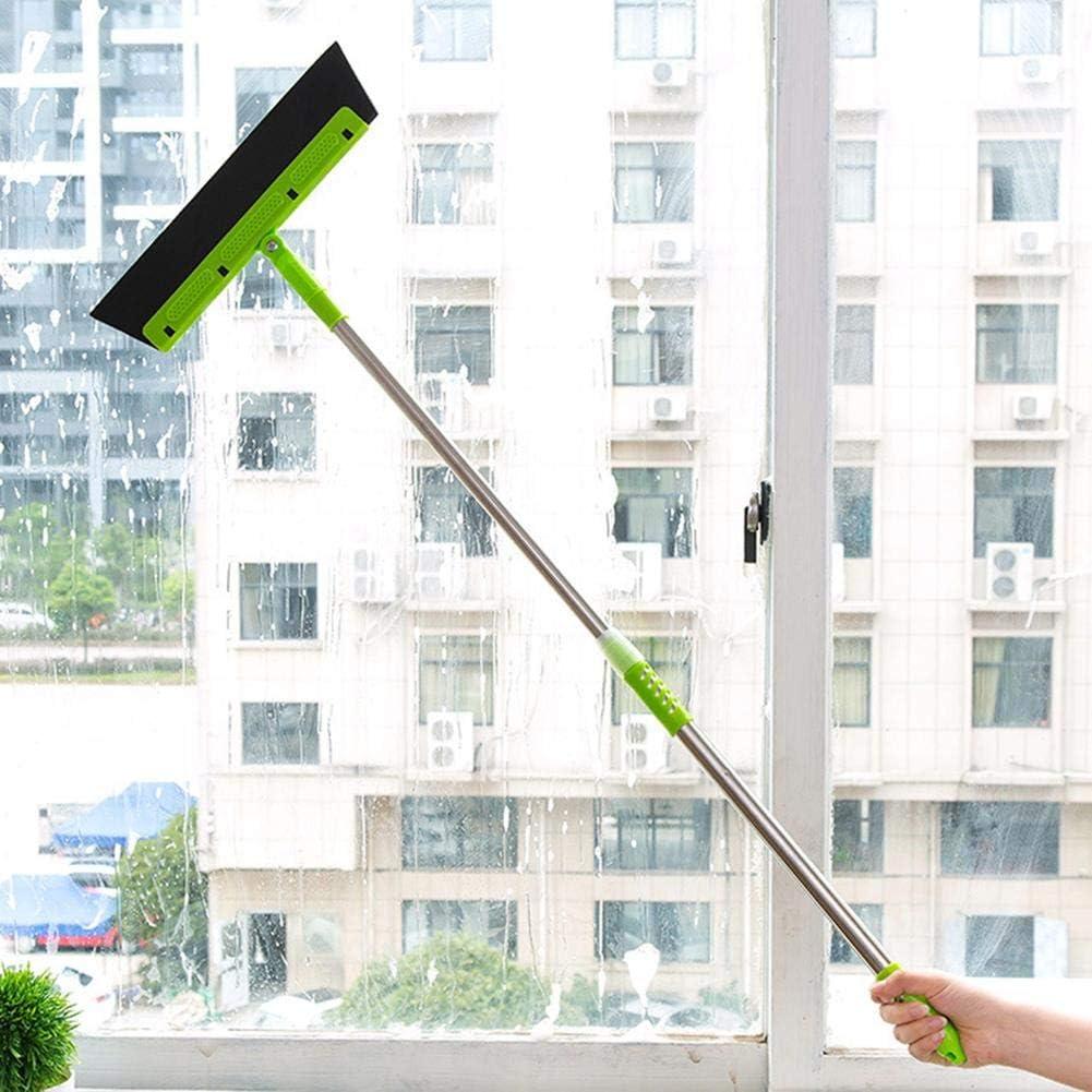 Wasserschieber Bodenabzieher,Wasserschieber Bodenabzieher Dusche Fensterabzieher Dusche Fensterabzieher Mit Stiel 100cm Abzieher Boden Dusche Wasser Wischer Wasserabzieher Mit Teleskopstiel