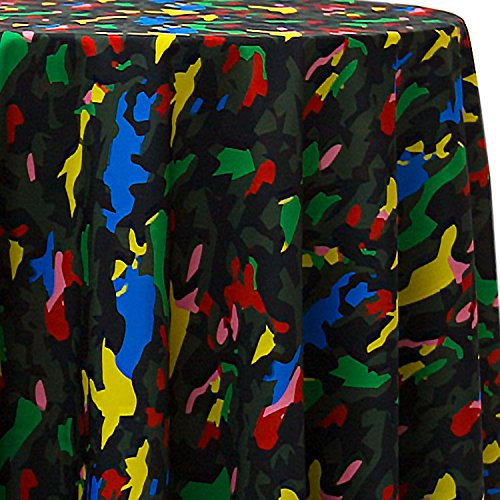 Ultimate Textile Camo Animal 108 x 156-Inch Oval Printed Tablecloth by Ultimate Textile (Image #2)
