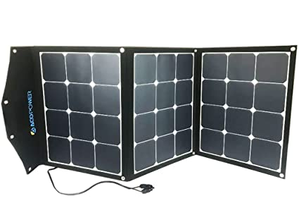 9673d6c0c152 ACOPOWER 12V 105W Portable Solar Panel; Foldable Suitcase for Solar  Generator 12V Battery w SUNPOWER Cell (Solar Panel)