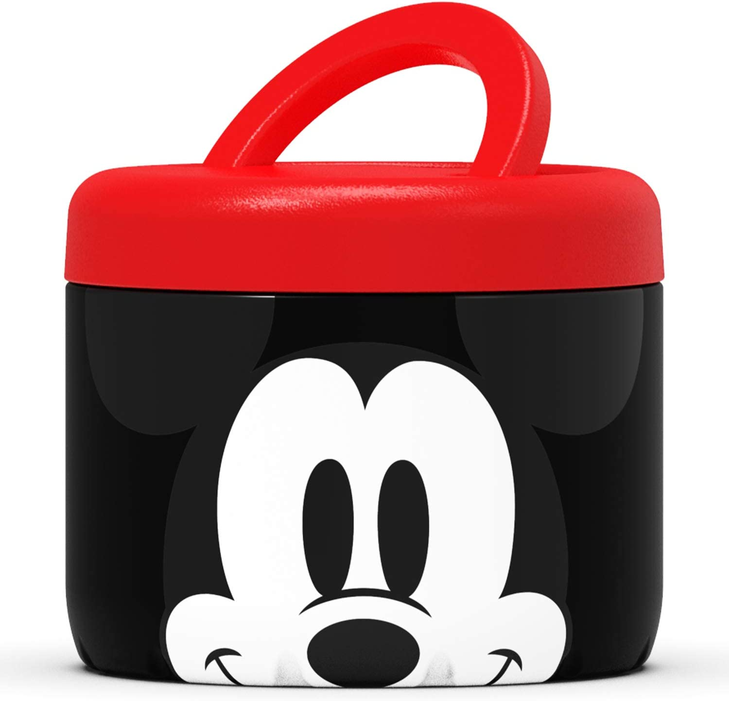 S'nack by S'well Stainless Steel Food Container - 24 Fl Oz - Disney Hello Mickey Mouse - Double-Layered Insulated Bowls Keep Food and Drinks Food and Drinks Cold for 12 Hours and Hot for 7 Hours