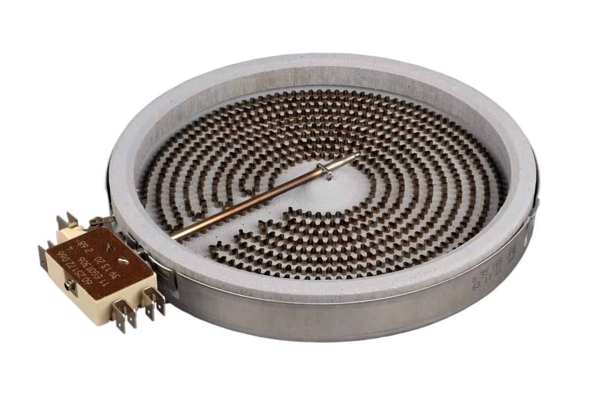 Calefactor de Hornilla Placa Cocina Vitrocerámica 180mm ...