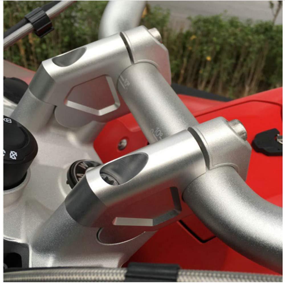 2017 2/pcs 32/mm usinage CNC rehausseurs de guidon Barre de serrage dadaptateur avec boulons pour BMW R1200gs LC ADV 2014