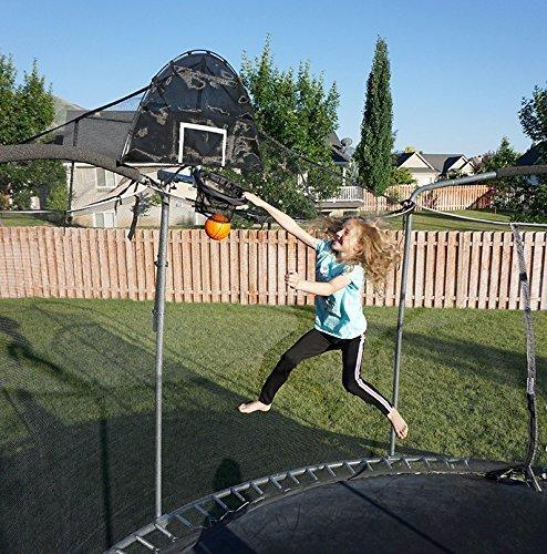 Jump Slammer Trampoline Basketball Hoop | Easy Install | Foam Ball Included | [Lifetime Parts Warranty] by Trampoline Pro (Image #7)