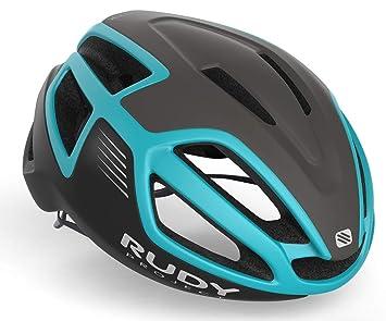 Rudy Project Spectrum - Casco de Bicicleta - Negro/Turquesa Contorno ...