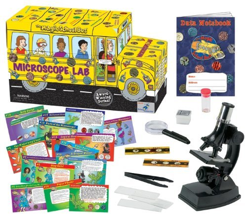The Magic School Bus - Microscope Lab by The Magic School Bus (Magic Bus Microscope)