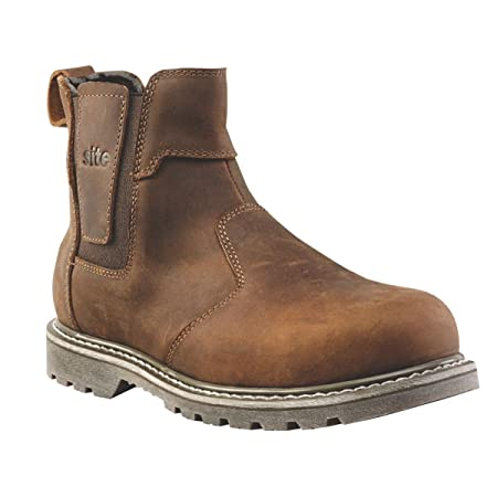 eb28560abcb Site Mudguard Dealer Safety Boots Brown Size 11: Amazon.co.uk: DIY ...