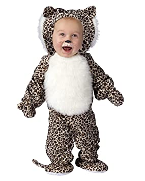 Peluche Leopardo Disfraz Niño S: Amazon.es: Juguetes y juegos