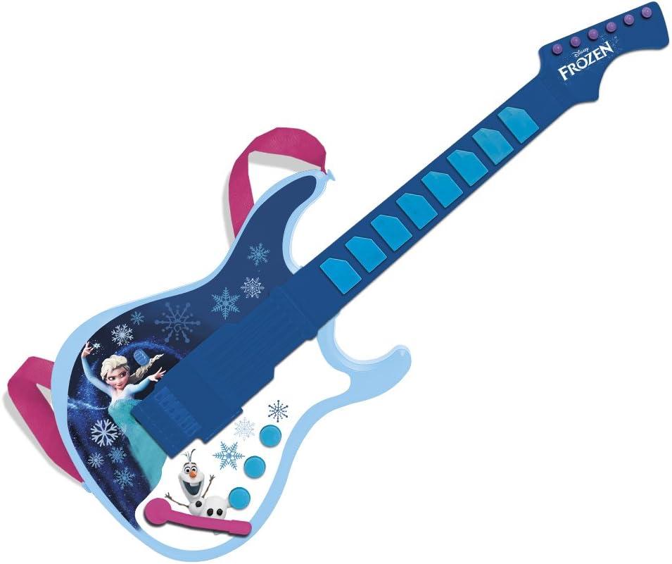 Frozen - Guitarra electrónica con salida mp3 (Claudio Reig 5388): Amazon.es: Instrumentos musicales