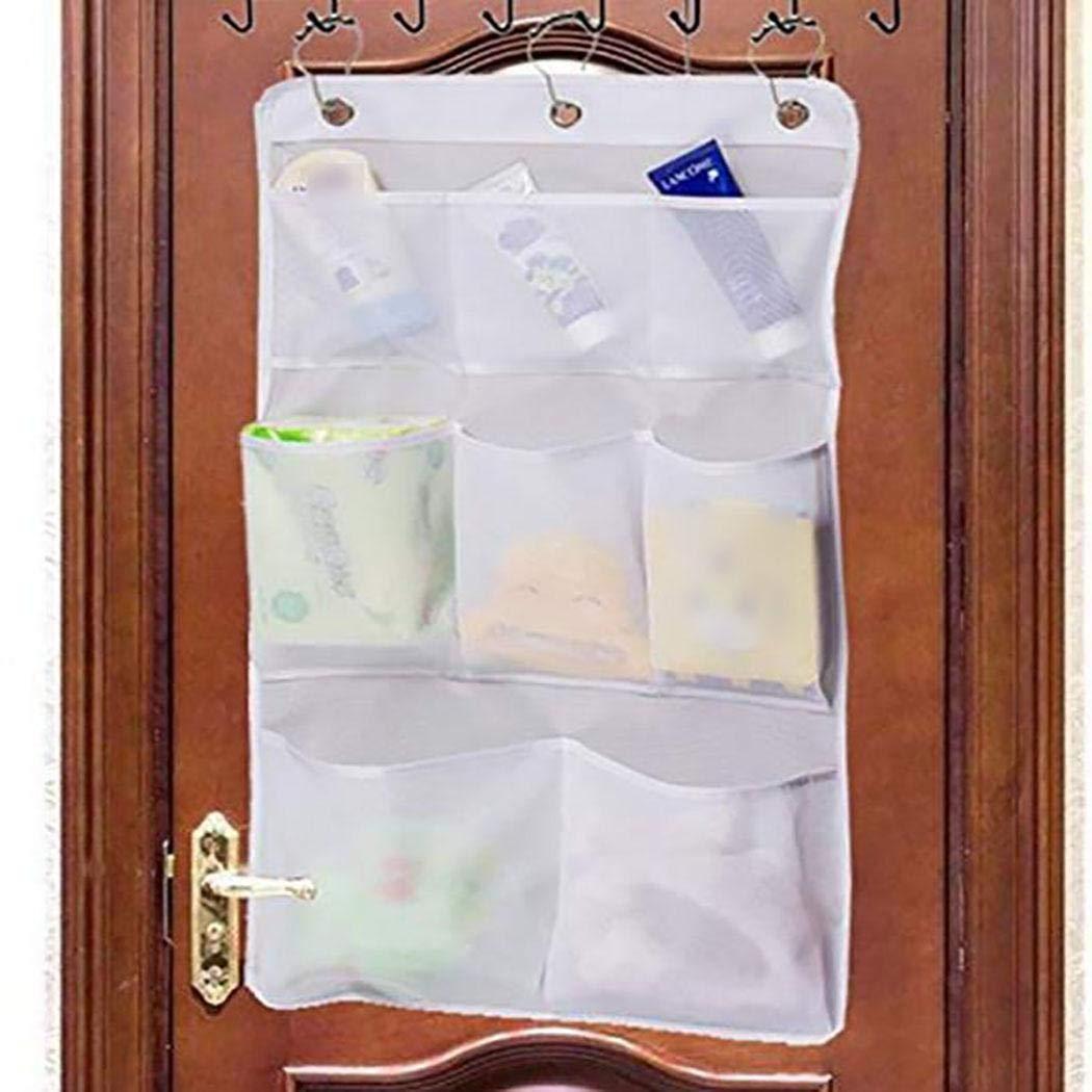 Ankidz Multi Pocket Hanger Badezimmer h/ängen Mesh Net Aufbewahrungstasche Bad Spielzeug Container Schrankordnungssysteme