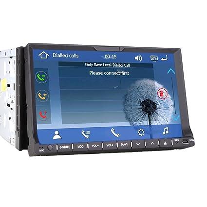 4GB Mapa Libre Tarjeta PUPUG 7 Pulgadas 2 DIN en el Tablero de Coches GPS EST