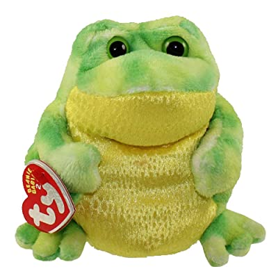 Ty Beanie Babies 2.0 Jumps Frog: Toys & Games
