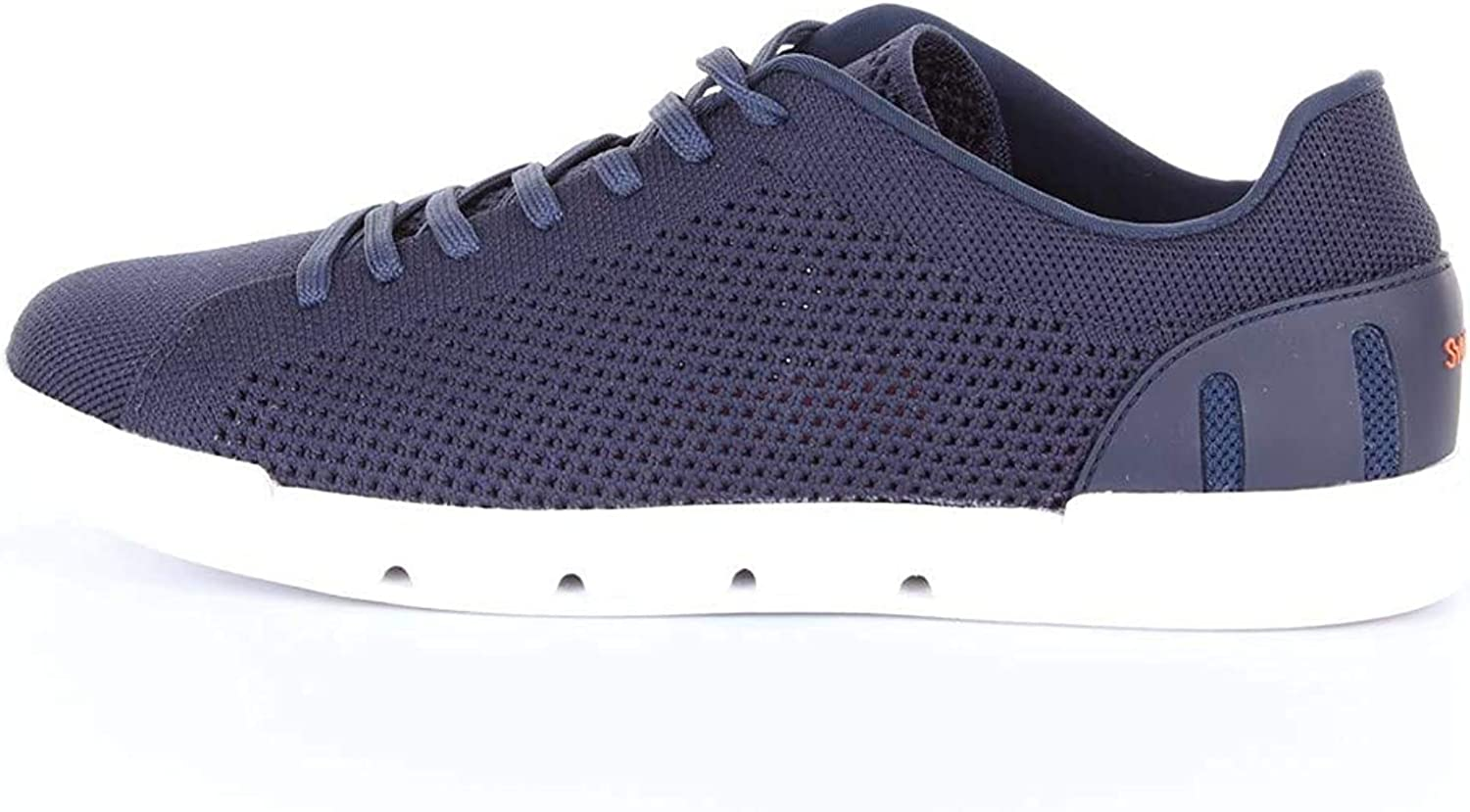 SWIMS Breeze Tennis Knit, Sneakers Basses Homme Navy White