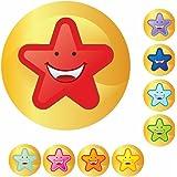 90 Multi Star Reward Stickers for Teachers, Parents & Schools