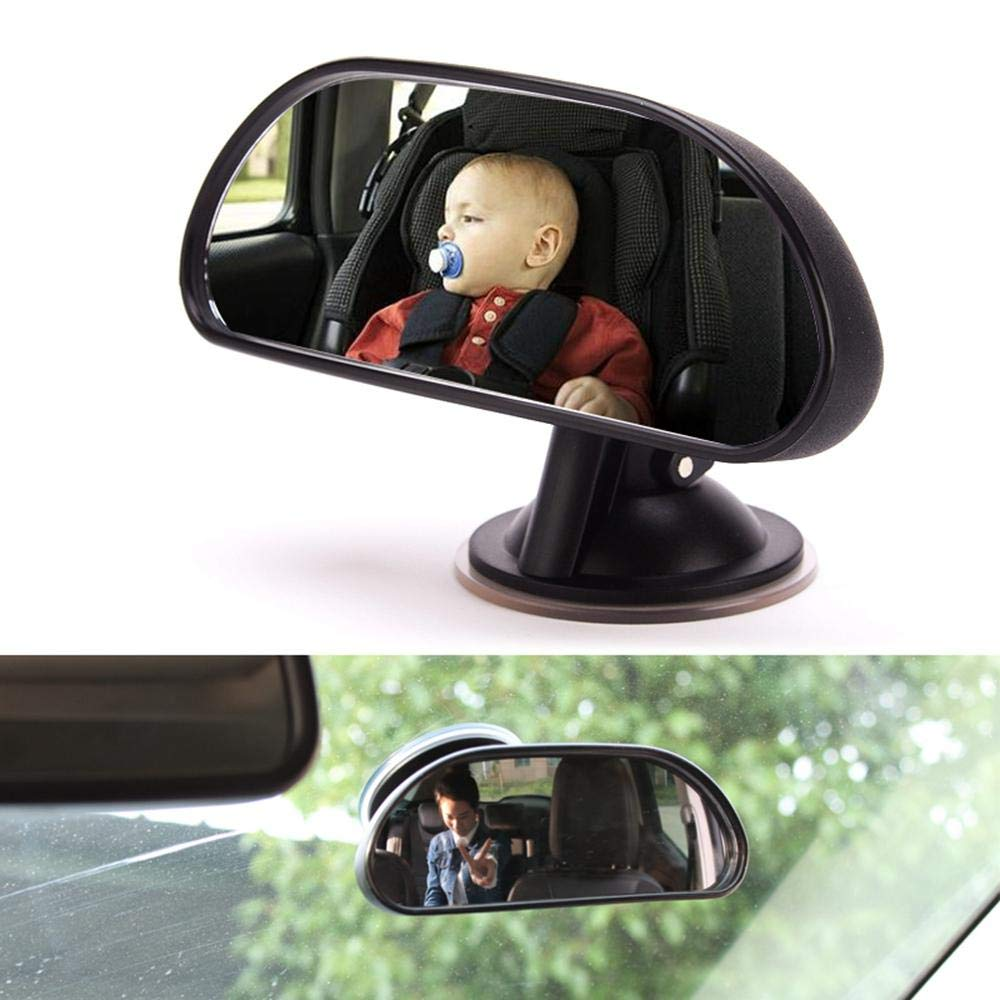 Autositz Innendekoration 360 Grad drehbar Kinder-Beobachtungsspiegel Seitenspiegel Hamkaw R/ücksitzspiegel f/ür Babys R/ückspiegel mit Saugnapf f/ür Auto