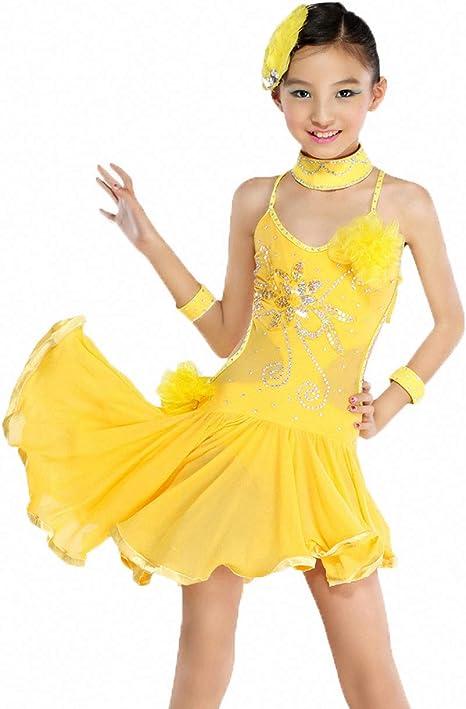 Magogo Falda de Carnaval, Vestidos de Baile Latino para niñas ...