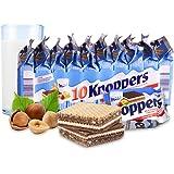 Knoppers 牛奶巧克力榛子威化饼干 250g(德国进口) (亚马逊自营商品, 由供应商配送)