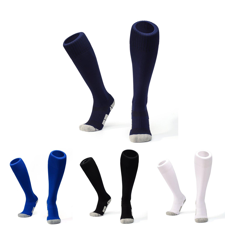 WAWEN SOCKSHOSIERY ボーイズ B075B2XT1LBlack+white+blue+dark Blue S-little kid shoes US 12M-Big Kid's shoe US 2.5 M