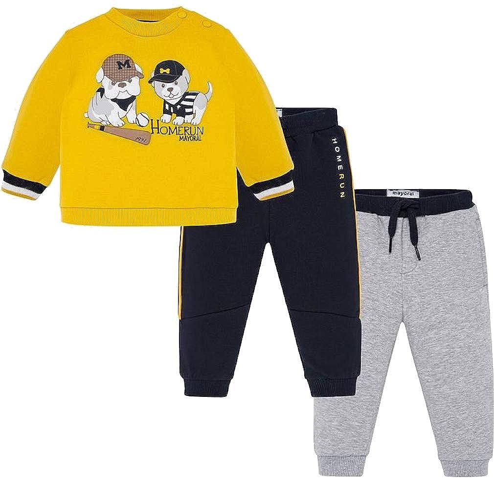 Mayoral Set Felpa e Pantaloni da Bambino
