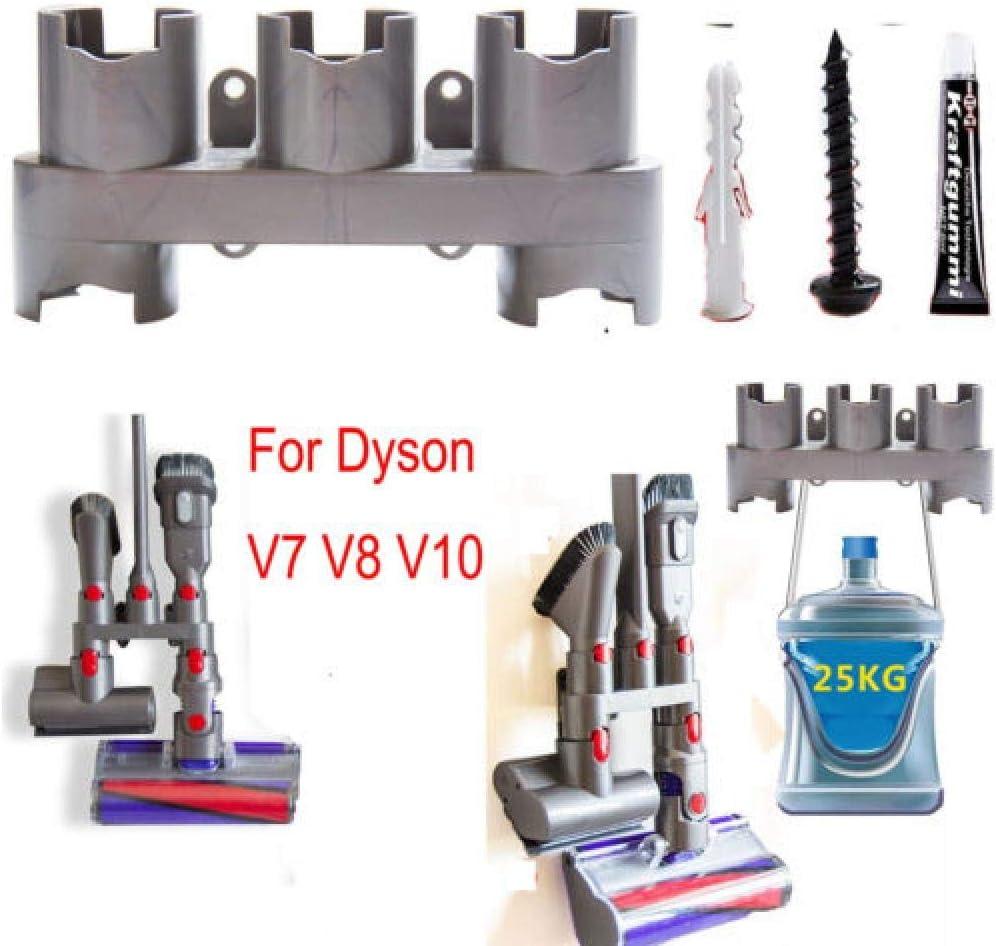 For Dyson-V7 V8 V10 Absolut Vacuum Brush Wall Mount Storage Rack Holder Kiit