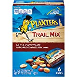 Planters Trail Mix Pack, Nut and Chocolate, 6 Pouches, 7.5 Ounce