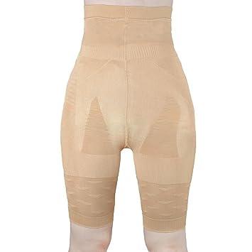 Mujer faja reductora pantalones adelgazamiento ropa interior SS-W02 Beige (Beige, S)