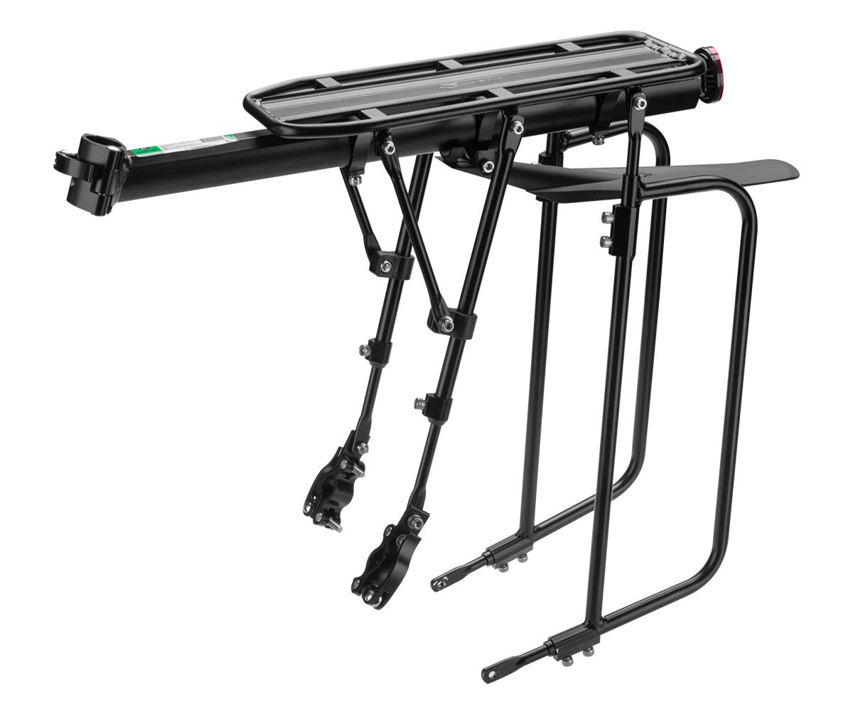 Associated product image for ROCKBROS Bike Cargo Rack Bicycle Rear Rack Mountain Bike Pannier Luggage Carrier Racks with Fender Adjustable Quick Release