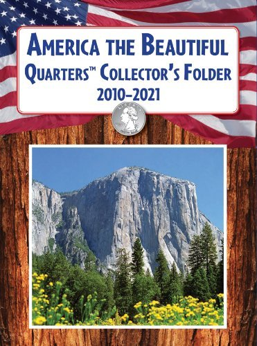 America the Beautiful Quarters Collector's Folder 2010-2021 by United States Mint (Brdbk Edition) [Boardbook(2010)]