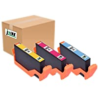 J2INK 3 Pack Remanufactured High Yield Ink Cartridges for HP 902XL HP 902 Color OfficeJet Pro 6968 OfficeJet Pro 6978
