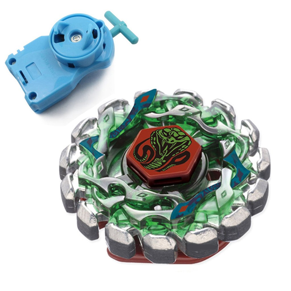 Poison Serpent Fight Metal 4D Gyro Battling Tops BB69 Gyroscope (Gyro+Black Launcher) Generic