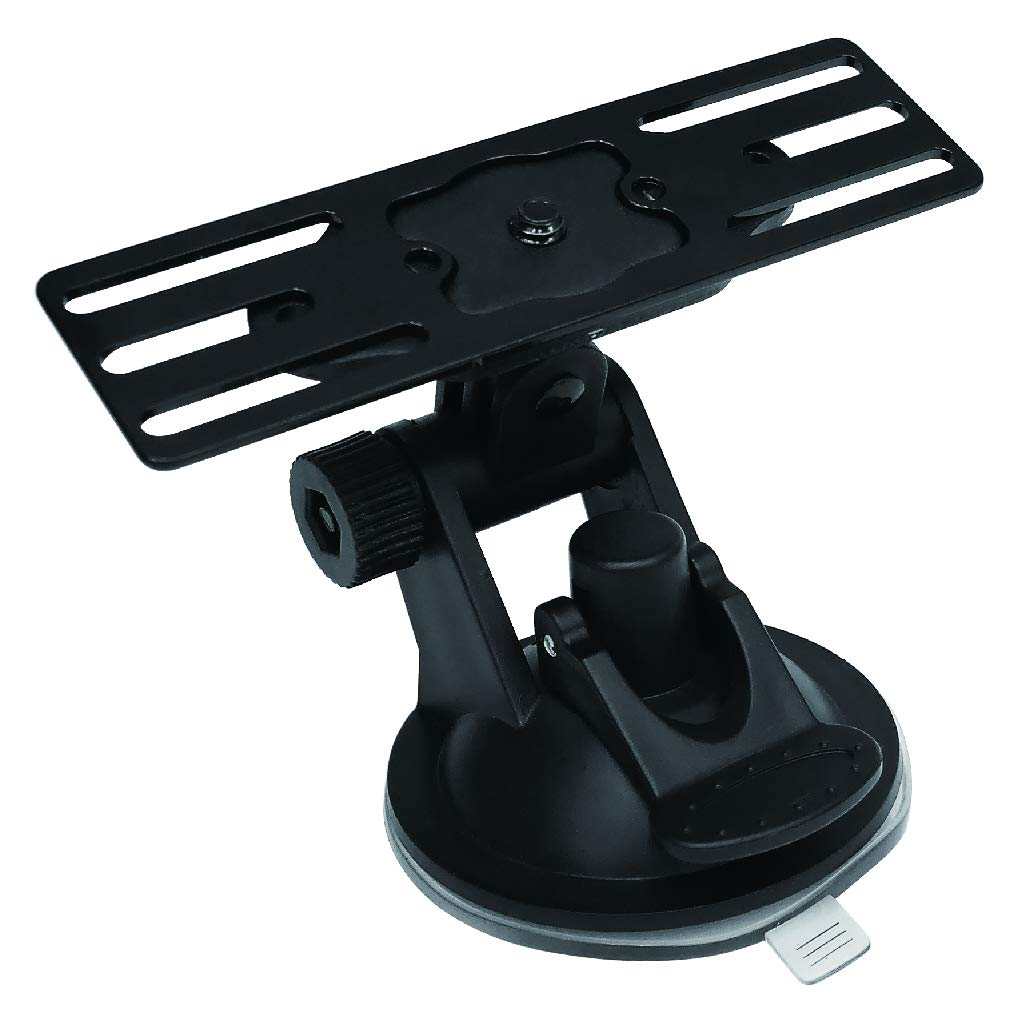 Quick Release Suction Cup Remote Mount Kit Panel Bracket for ICOM, Kenwood, YAESU, Alinco, Mobile Transceiver Radio