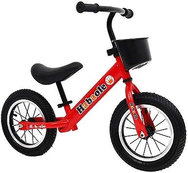 LIDU Bicicletas Sin Pedales Mini PortáTil NiñOs Bicicleta de ...