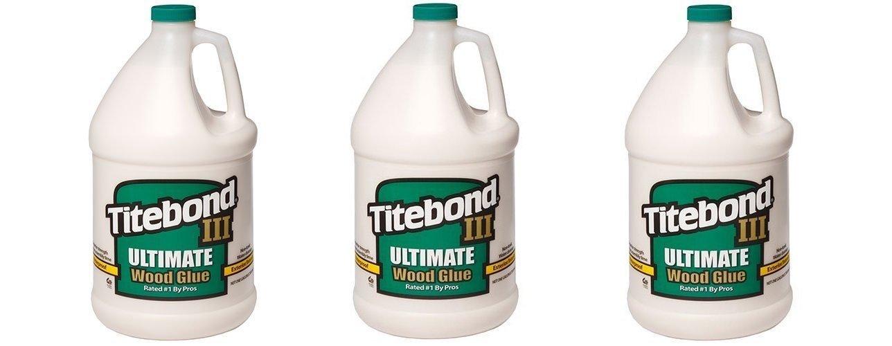 Franklin International 1416 Titebond-3 Ultimate Wood Glue, 1-Gallon (3 PACK)