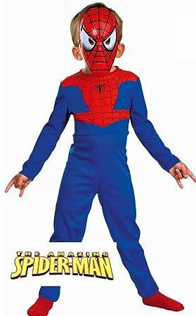 Josman B151 Disfraz Spiderman 7-9 años: Amazon.es: Juguetes y juegos