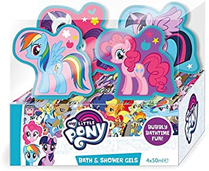 My Little Pony – baño y ducha juego, 50 ml, pack de 4: Amazon.es: Belleza
