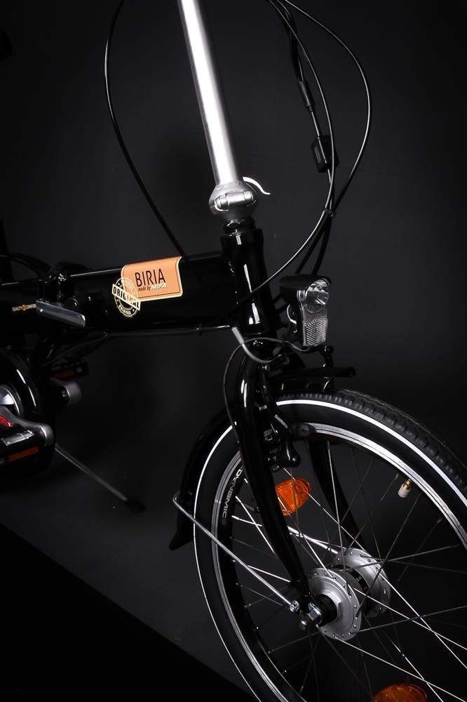 20 pulgadas bicicleta eléctrica bicicleta E-Bike eléctrico (aluminio, 6 velocidades Shimano Negro: Amazon.es: Deportes y aire libre