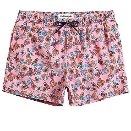 MaaMgic Mens Boys Short Swim Trunks Mens Bathing Suits Slim Fit Swim Shorts Swimsuit for Men Boys Swim Trunks Bathing Suit