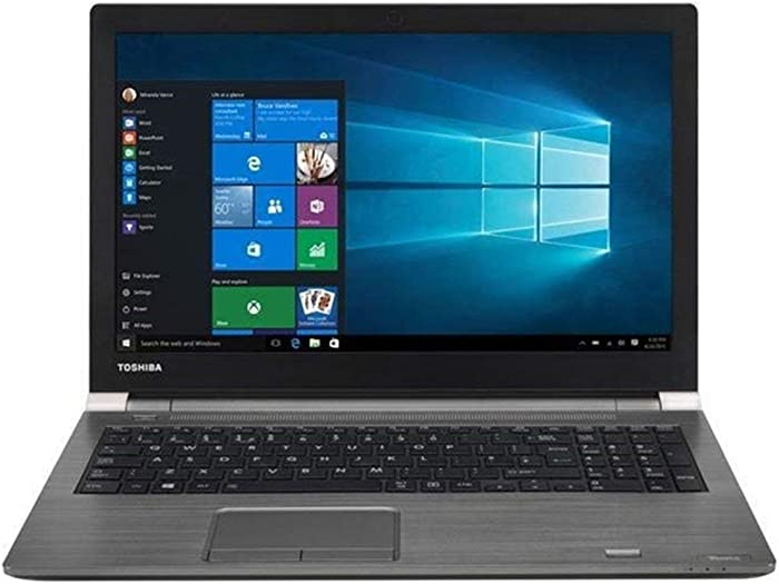 TOSHIBA Tecra 15.6 inch HD Business Flagship High Performance Laptop, Intel Core i7-7500U, 16GB RAM, 256 GB M.2 SSD, VGA + HDMI, DVD +/-RW, Windows 10 Pro