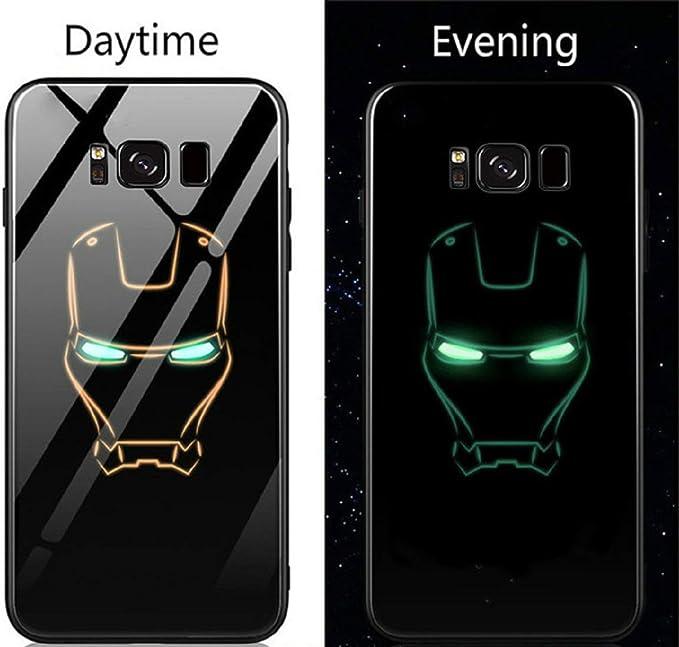 Marvel Venom Lumineux Coque en Verre Trempé pour Samsung Galaxy S7 ...