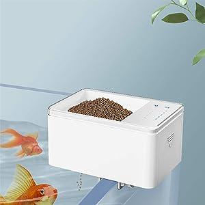 Automatic Fish Feeder - Fish Food Dispenser for Aquarium or Fish Tank for Small Fish Aquarium Tank Timer Feeder Vacation &Weekend 2 Fish Food Dispenser