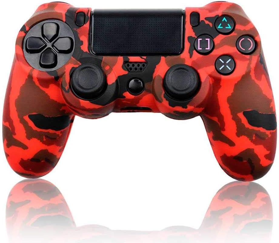 Ociodual Funda de Silicona Carcasa para Mando Sony PS4/Slim/Pro ...
