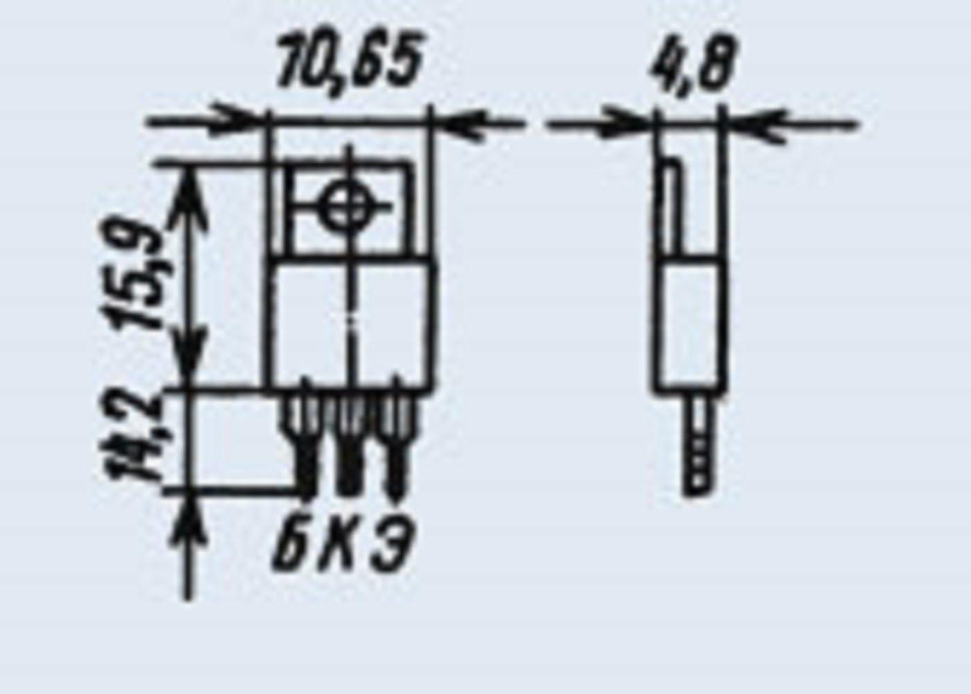 Transistors silicon KT858A analogue 2SC4296 USSR 6 pcs