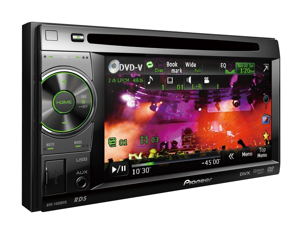 Pioneer Double-Din AV Player with 5.8 inch Touch Screen, iPod/iPhone ...