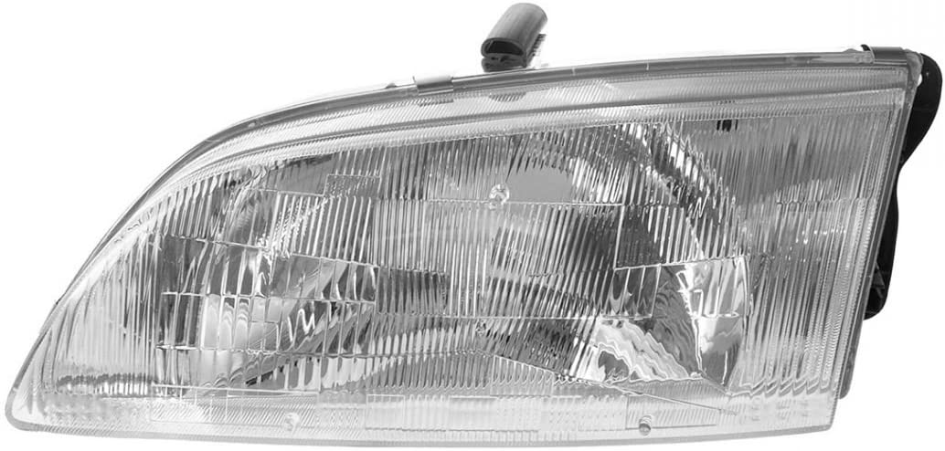 amazon com headlight headlamp driver side left lh for 98 99 mazda 626 automotive amazon com
