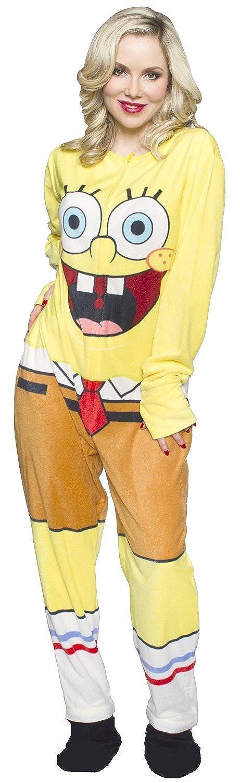 WebUndies.com Bob Esponja Adulto Onesie Pijama para Hombre: Amazon.es: Ropa y accesorios