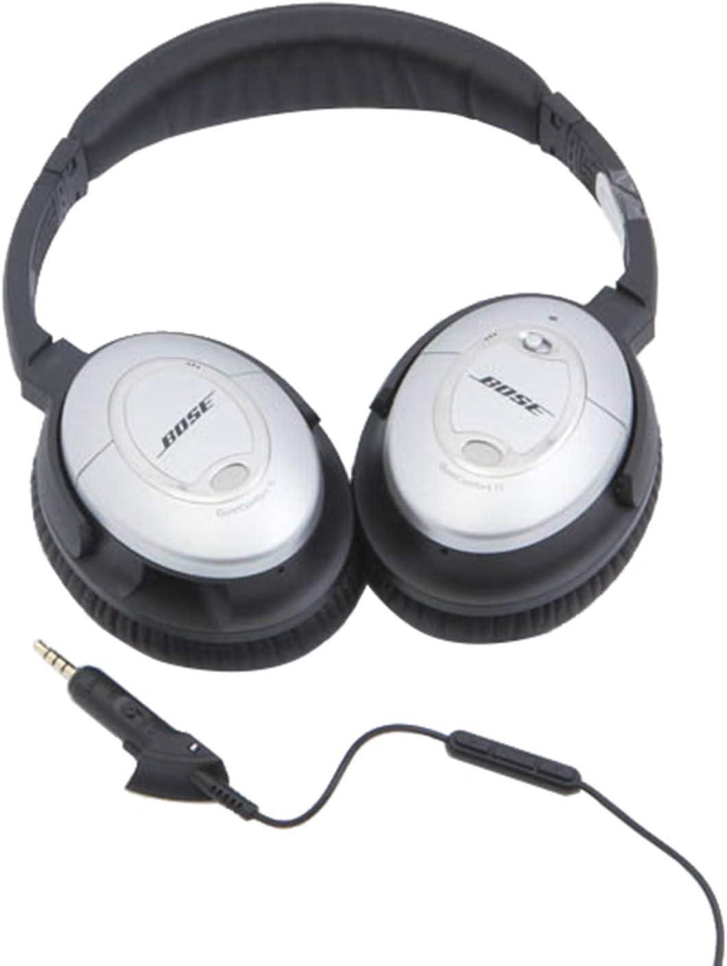 Replacement Audio Cable Cord for Bose QC15 QC2 QuietComfort 15 2 Headphones Black