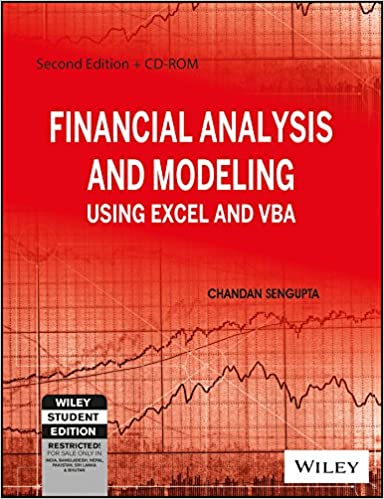 Book Financial Analysis and Modeling Using Excel and VBA