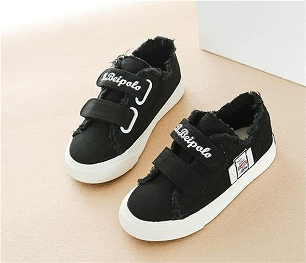 Kids Classic Low Top School Canvas Shoes Anti-Collision Sport Sneakers
