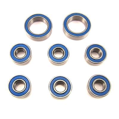 Traxxas 4x4 Slash, Stampede Wheel, Hub Bearings BU, 5x11x4mm-10x15x4mm: Toys & Games